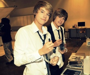 dylan sprouse, boy, and twins image