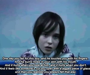 love, ellen page, and quote image