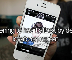 demi lovato, heart attack, and demi image