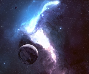 galaxy, space, and photography image