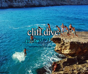 cliff, sea, and summer image