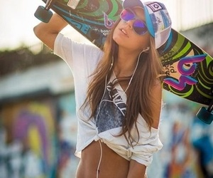 boarding, Dream, and girls image