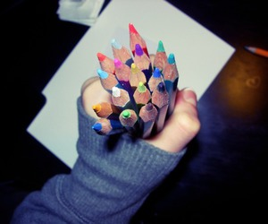 art, color, and hand image