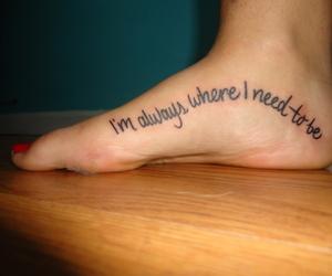 feet, tattoo, and the kooks image