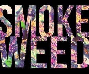 weed, smoke, and smoke weed image