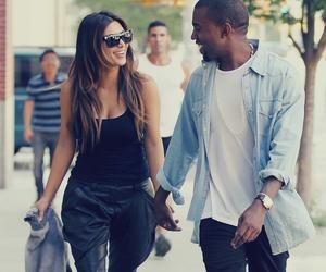 kim kardashian, love, and kanye west image