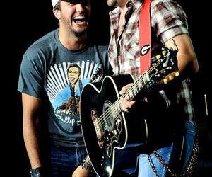 luke bryan, jason aldean, and country image
