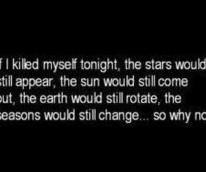 suicide, earth, and stars image