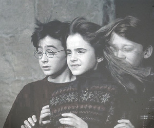 harry potter, hermione, and r image