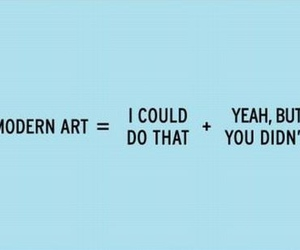 art, modern art, and funny image