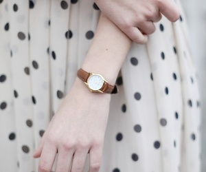 watch, dress, and vintage image