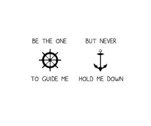 anchor, quote, and guide image