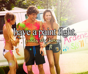 paint and fight image