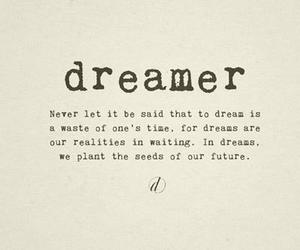 dreamer and quote image