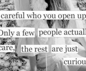 quotes, curious, and care image