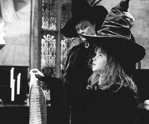 always, black and white, and harry potter image