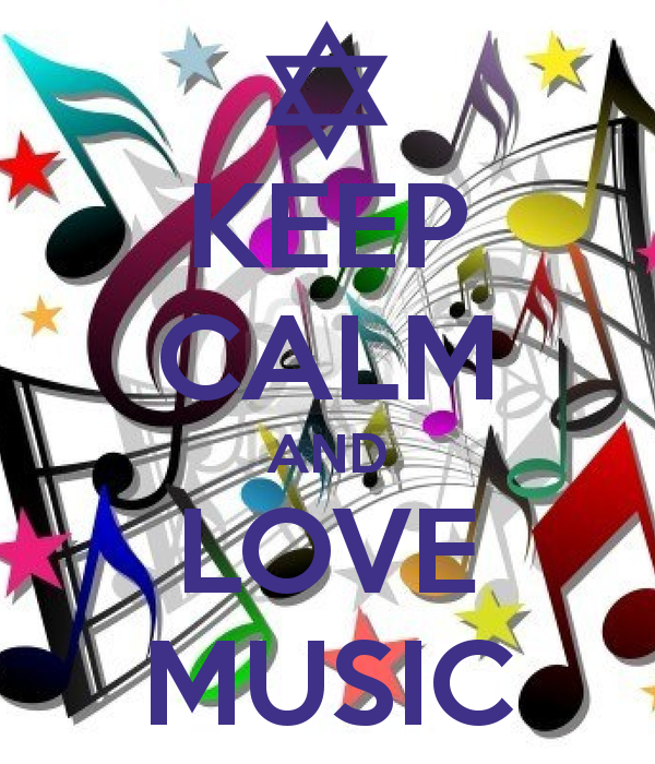 Keep Calm And Love Music On We Heart It