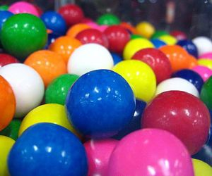 ball, colours, and gum image