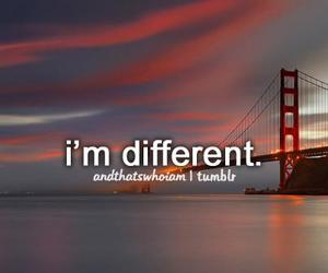 different, me, and quote image