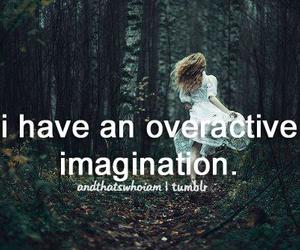 quote, imagination, and and that's who i am image