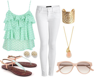 fashion, Polyvore, and spring image
