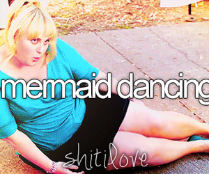 fat amy, pitch perfect, and mermaid dancing image