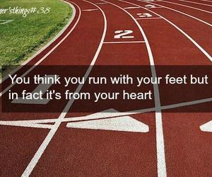 quote, run, and sports image