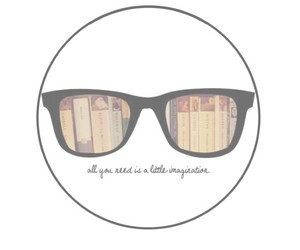 books, glasses, and people image
