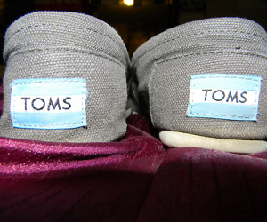 shoes, slip ons, and toms image