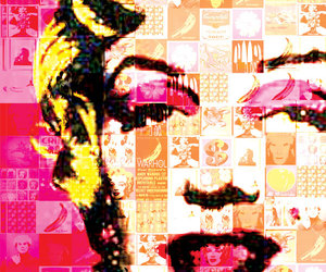 andy, pop art, and marylin image