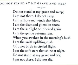 poem, death, and quotes image