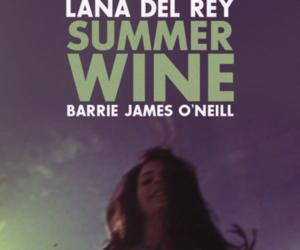 lana del rey and summer wine image