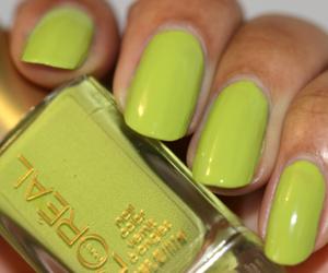 blue nails, red nails, and green nail polish image