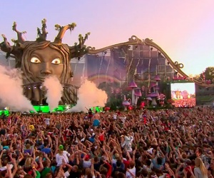 Tomorrowland, party, and people image