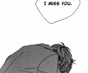 manga, sad, and anime image