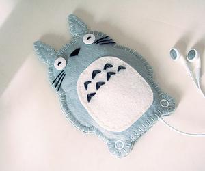 totoro, cute, and ipod image