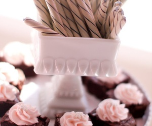 cake, wedding, and mini cakes image