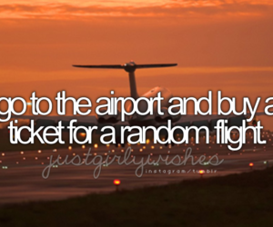 travel, airport, and plane image