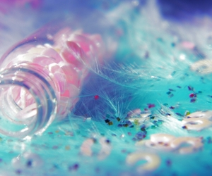 feathers, water, and cute image