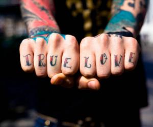 tattoo, love, and true love image