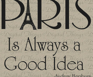 paris, quote, and text image