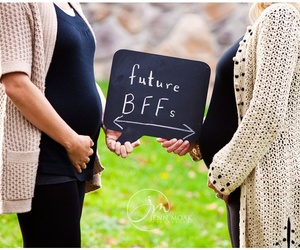 bff, best friends, and baby image