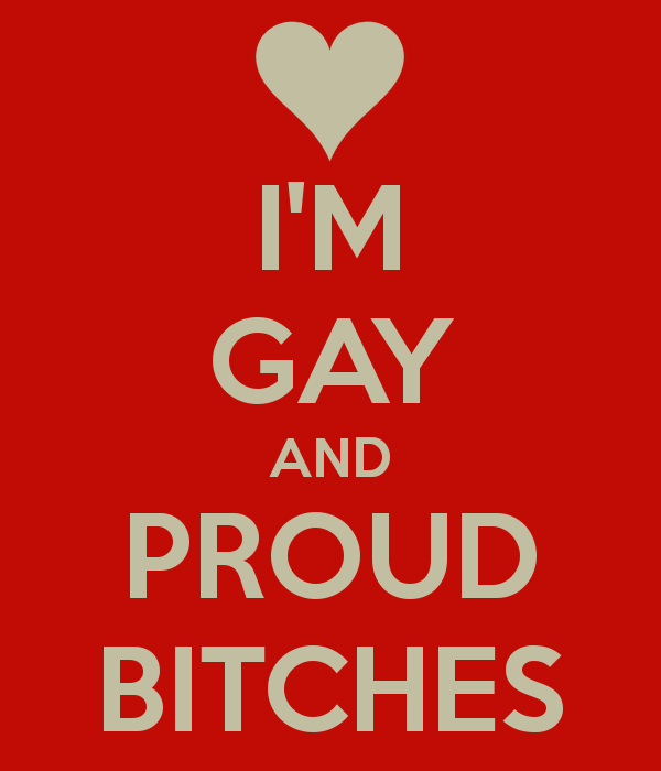 Quotes about being gay and proud
