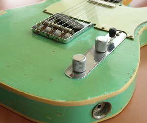 electric guitar, fender, and Telecaster image