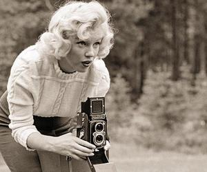 Marilyn Monroe, vintage, and photography image