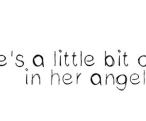 quote and angel image