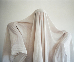 ghost, photography, and white image