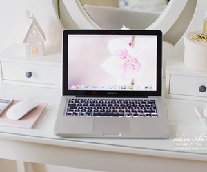 macbook, white, and laptop image