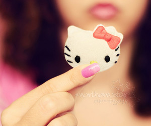 hello kitty, marshmallow, and photography image