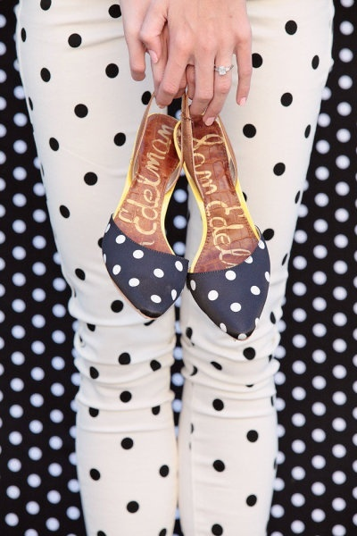 beautiful, polka dots, and style image